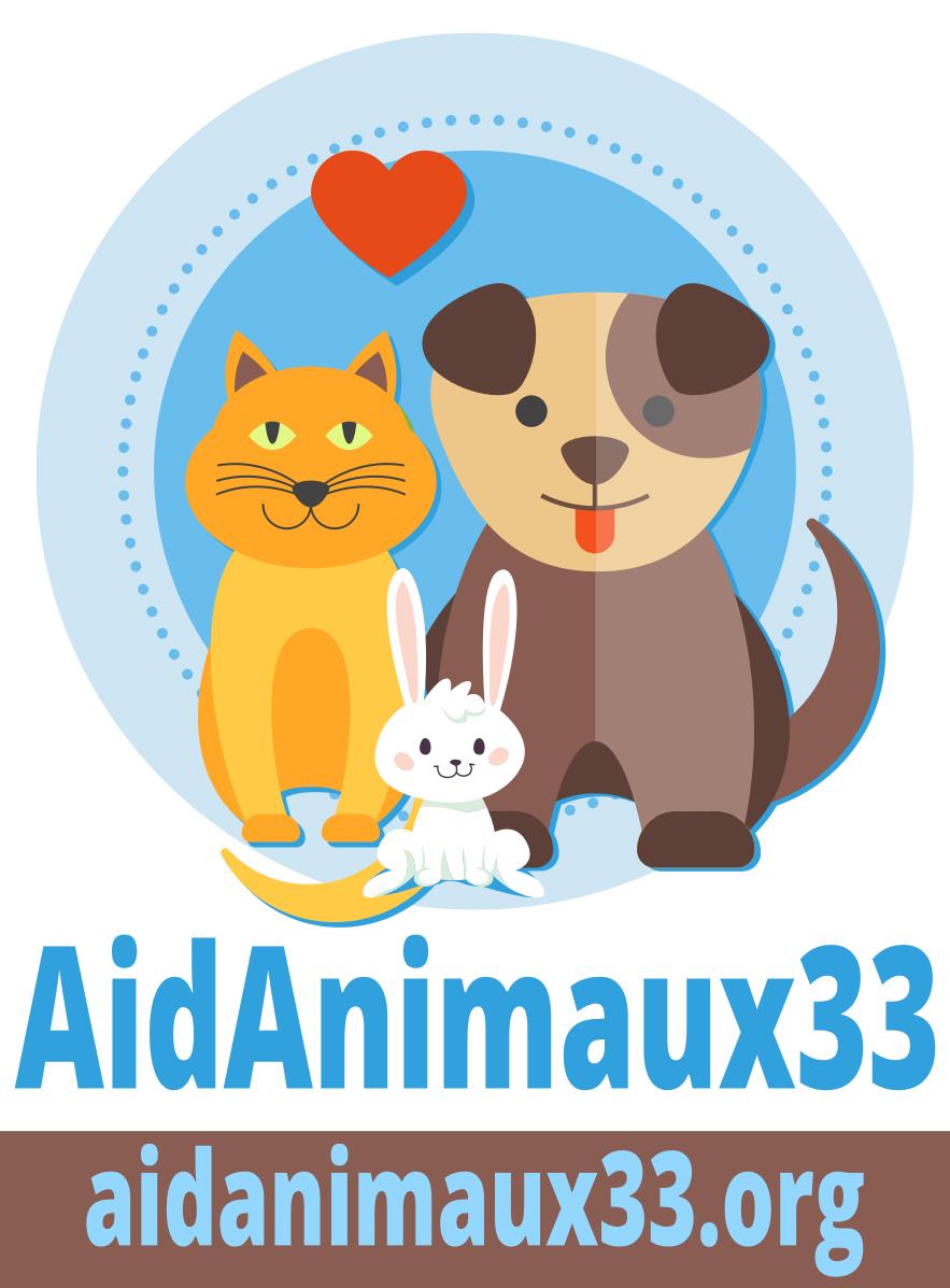 2017 logo AidAnimaux couleur fond blanc - Coach en éducation canine positive et comportement canin