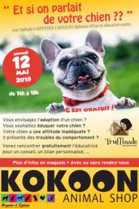 Email Eysines educ canine truffinade 12mai2018 200x300 - Les évènements et les animations de Truffinade