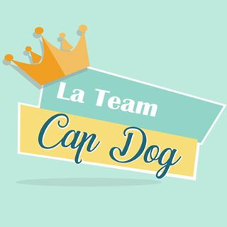 LOGO LA TEAM CAP DOG - Coach en éducation canine positive et comportement canin